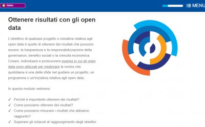 "la guida ""Opendata e-learning"" del portale europeo finalmente in Italiano"
